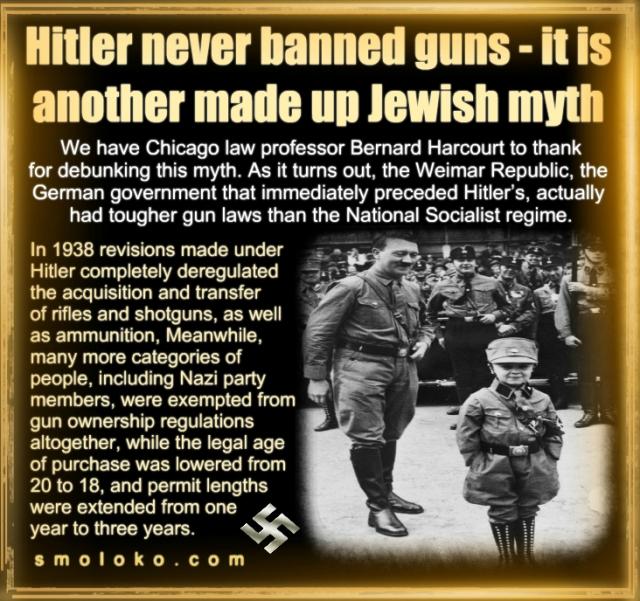 HitlerGunCOntrolMythMeme